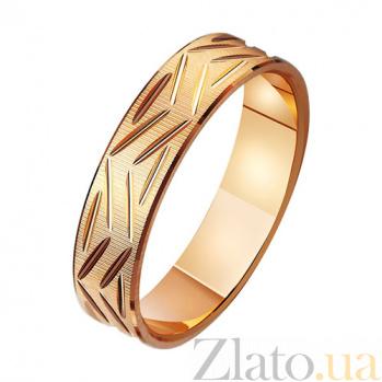 Золотое обручальное кольцо Моя мечта TRF--411100