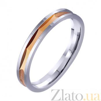 Золотое обручальное кольцо Идиллия TRF--4211317
