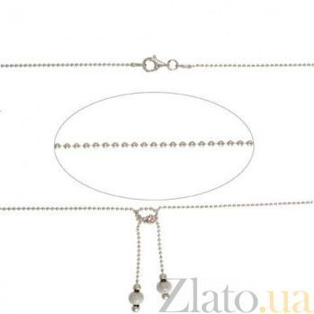 Серебряное ювелирное колье AQA--946Р-2