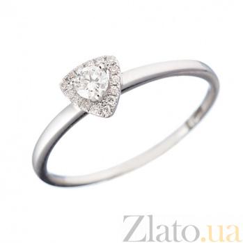 Золотое кольцо с бриллиантами Клер 1К193-0140