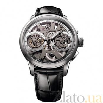 Часы Maurice Lacroix коллекции Le Chronographe Squelette MLX--MP7128-SS001-000