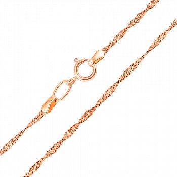 Ланцюжок із червоного золота 000106390, 2 мм