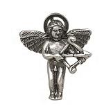 Серебряный подвес Влюбленный ангел