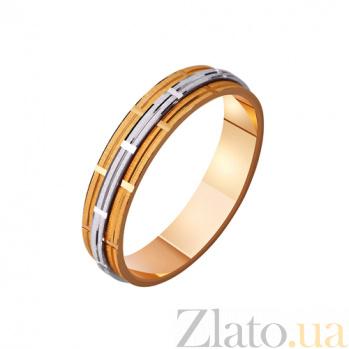 Золотое обручальное кольцо В ритме любви TRF--421119