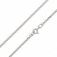 Серебряная родированная цепочка Отелло, 2 мм