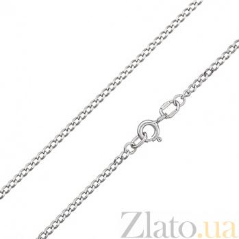 Серебряная цепочка покрытая родием Отелло, 2 мм 000011814