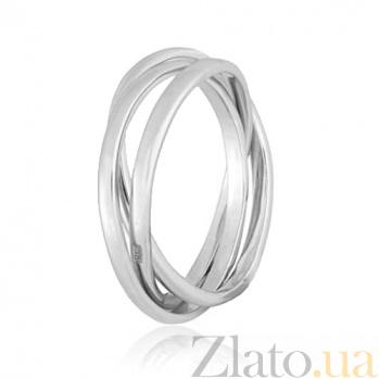 Серебряное кольцо Рассвет 000028006