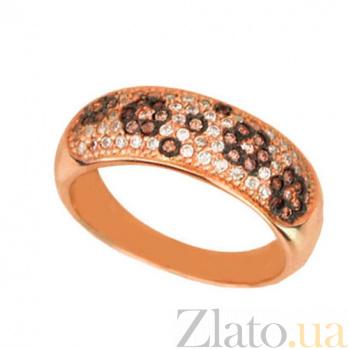 Кольцо из красного золота Цветок надежды VLT--ЕЕ1611