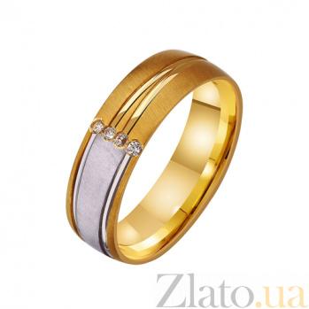 Золотое обручальное кольцо Любовная игра TRF--432315