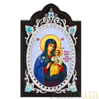 Серебряная икона Неувядаемый цвет 2.78.0675