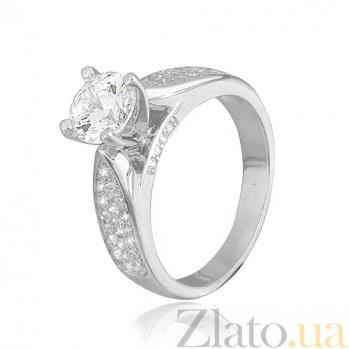Кольцо из серебра с фианитами Мисс Безупречность 000028067