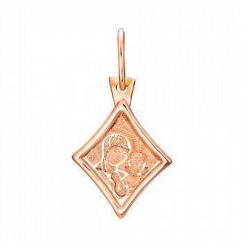 Ладанка из красного золота 000130745