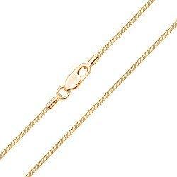 Цепочка из желтого золота в плетении снейк, 1.4 мм 000004368