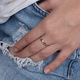 Кольцо из желтого золота Me