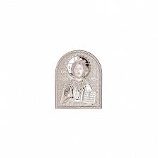 Иисус Христос икона серебро
