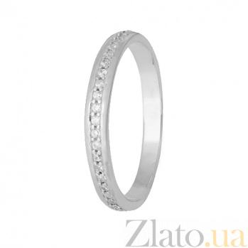 Серебряное кольцо с фианитами Шерри 000028093