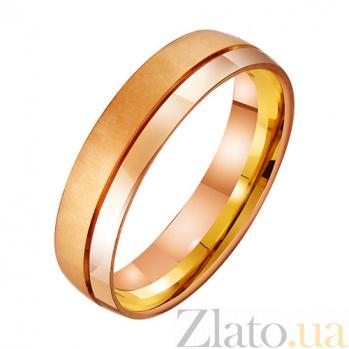 Золотое обручальное кольцо Прекрасное чувство TRF--431426