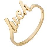 Кольцо из красного золота Luck