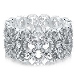 Кольцо из белого золота с бриллиантами Долина грез: Праздник Жизни 000010854