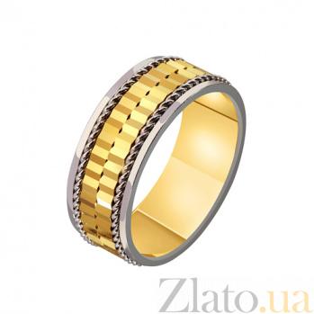 Золотое обручальное кольцо Элегантность TRF--4411478