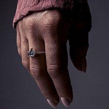 Серебряное кольцо Like в виде значка лайка с большим пальцем вверх