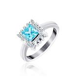 Серебряное кольцо Анхелика с фианитами
