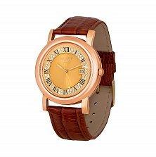 Наручные часы из золота с фианитами 000135472
