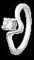 Кольцо из серебра с фианитом Тара 000025723