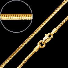 Цепочка из желтого золота Асти