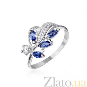 Кольцо из серебра с цирконием Олимпия 000025479