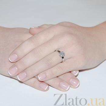 Кольцо из белого золота с бриллиантами Мечта KBL--К1152/бел/брил