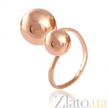 Кольцо из серебра с позолотой Мэлори 000028173