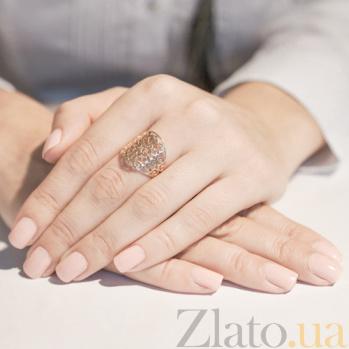 Кольцо из красного золота Сидней 12662