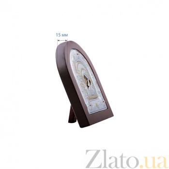 Владимирская икона Божьей Матери из серебра в позолоте AQA--MA/E3106DX