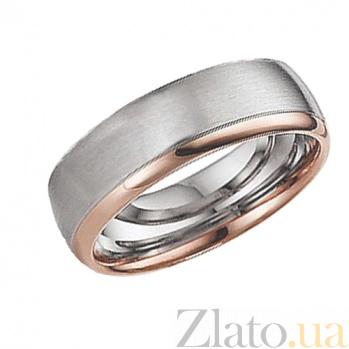 Золотое обручальное кольцо Зов сердца TRF--4411047