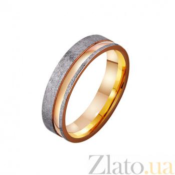 Золотое обручальное кольцо Мой мир и свет TRF--4111174