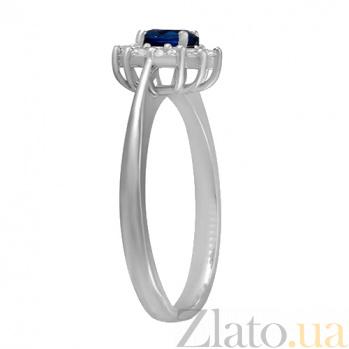 Серебряное кольцо с цирконием Анкария 000028354