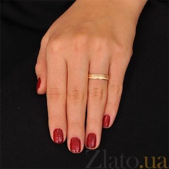 Золотое обручальное кольцо Без слов 000001686