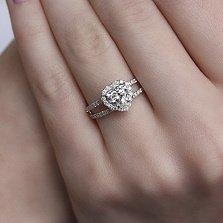 Золотое кольцо с бриллиантами Признание