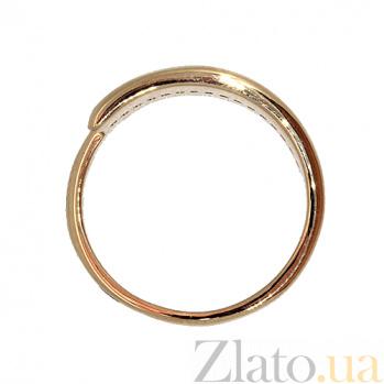 Кольцо из красного золота с бриллиантами Фрида 000021430