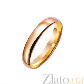 Золотое обручальное кольцо Встреча любви TRF--4110533