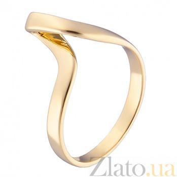 Золотое кольцо Атрис в желтом цвете 000032743