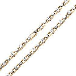 Золотая цепь Baraka в желто-белом цвете металла 000054634