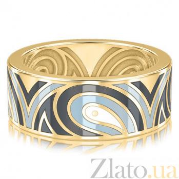 Мужское золотое обручальное кольцо Талисман: Гармонии 3314