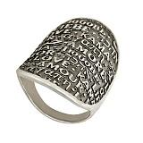 Серебряное кольцо с чернением Amore