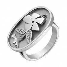 Серебряное кольцо Барвінок