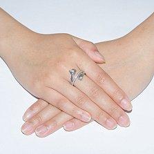 Серебряное кольцо Детские объятия