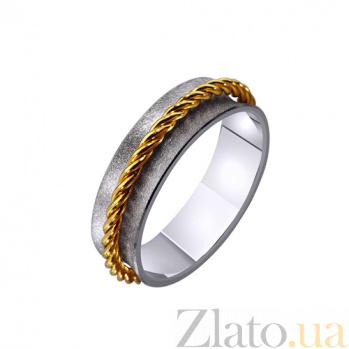 Золотое обручальное кольцо Rock style TRF--4421476