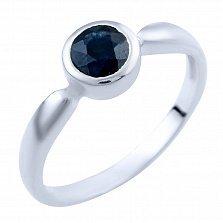 Серебряное кольцо Инджи с сапфиром