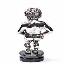 Серебряная статуэтка Писающий мальчик
